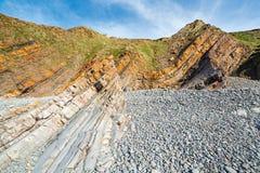 Sandymouth Cornwall England UK Stock Images