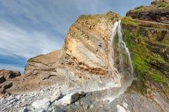 Sandymouth Cornwall England UK Royalty Free Stock Images
