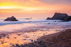 Sandymouth les Cornouailles Angleterre Photo libre de droits