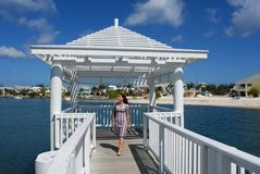 Sandyport Gazebo Royalty Free Stock Image