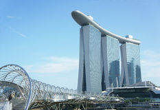 Sandz Kasino Singapur Stockbilder