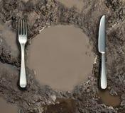 Saneamiento de la comida Imagen de archivo