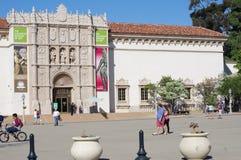 Sanen Diego Museum av konst Arkivbild