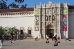 Sanen Diego Museum av konst Arkivbilder