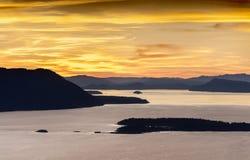 Sanen Juan Islands Arkivfoton