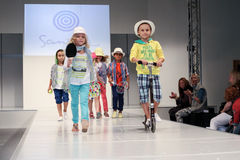 Sanetta衣物收集 免版税图库摄影