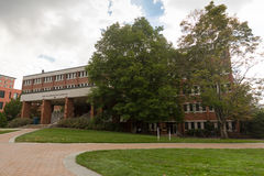 Sanford Hall en ASU Imagen de archivo libre de regalías