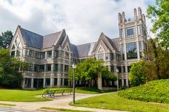 Sanford Institute på Duke University Arkivbild
