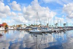 Sanford stad i centrala Florida arkivbilder