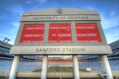 Sanford Stadium Royalty Free Stock Image