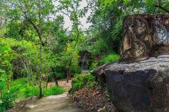 Sang Chan Waterfall foto de stock royalty free