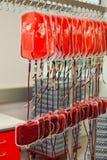 Sang du sang de distributeur dans le laboratoire de sang Photo libre de droits