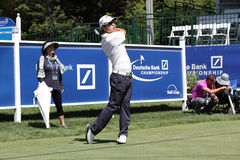 Sang Moon Bae. Boston, MA- August 30:  Thursday Sang Moon Bae the Deutsche Bank Championship at the TPC Boston golf course on August 30 , 2012 in Boston Royalty Free Stock Photos