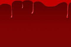 Sang sur le fond foncé Photo stock