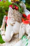 Statue of Hindu God Ganesha at Kailashnath Mahadev Statue complex in Sanga, Nepal