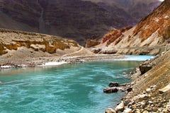 Sangam river Royalty Free Stock Images
