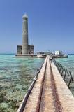 Sanganeb lighthouse, Sudan Royalty Free Stock Image