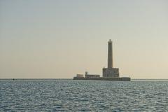 Sanganeb Red sea lightouse reef view Royalty Free Stock Image