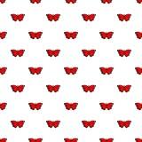 Sangaris butterfly pattern seamless. Sangaris butterfly pattern in cartoon style. Seamless pattern vector illustration Royalty Free Stock Photography
