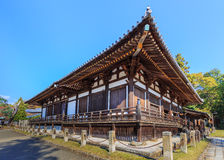 Sangatsu-do Hall of Todai-ji Complex in Nara Stock Images