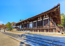 Sangatsu-do Hall of Todai-ji Complex in Nara Royalty Free Stock Image