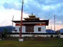 Sangchhen Dorji Lhuendrup Lhakhang, Bhután foto de archivo libre de regalías