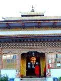 Sangchhen paisible Dorji Lhuendrup Lhakhang, Bhutan photos libres de droits