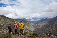 Sangda passerar, Nepal Royaltyfri Bild
