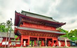 Sangedatsu Gate of Zojo-ji Temple in Tokyo Royalty Free Stock Photos