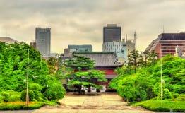 Sangedatsu Gate of Zojo-ji Temple in Tokyo Stock Image