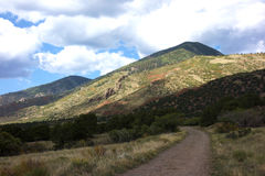 Sangre De Cristo High Desert Mountains royalty free stock photo