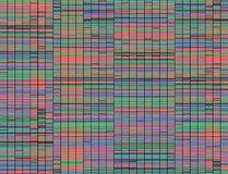 Sanger Sequencing Background Royalty Free Stock Photography