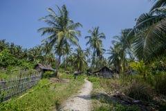 Sangiang海岛,万丹省 印度尼西亚 免版税图库摄影