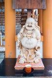 Sangkajjay stutue God of fortune and fertility in Shitennoji temple. In Osaka,Japan Royalty Free Stock Photography