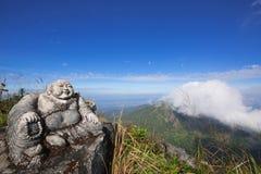 Sangkat Ja Buda en la montaña Fotos de archivo libres de regalías