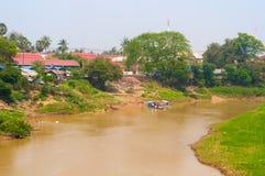 Sangker rzeka Fotografia Stock