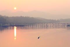 Sangkhlaburi River Royalty Free Stock Photo
