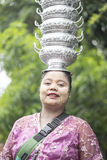 Sangkhlaburi, Thaïlande - 21 novembre 2014 photo stock