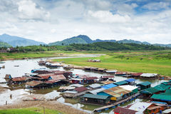 Sangkhlaburi in Thailand Stock Photography