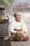 Sangkhlaburi, Thailand - NOV 21, 2014 Royalty Free Stock Photo