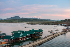 Sangklaburi Стоковое Фото