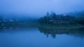 Sangklaburi dans le matin Image stock