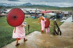 Sangklaburi Kanchanaburi Thaïlande Photographie stock libre de droits