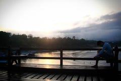 Sangkraburi-karnchanaburi Thailand Lizenzfreie Stockfotografie