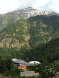 Sangla Valley in Himachal Pradesh. Scenic view of Sangla Valley in Himachal Pradesh in India Stock Images