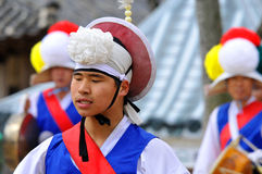 Sangmo dancers Stock Images