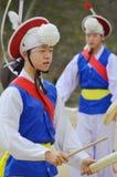 Sangmo dancers Stock Image