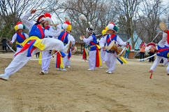 Sangmo-Tänzer Stockbild