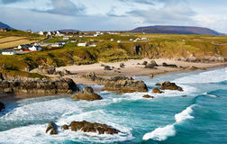 Sango Bay. Beach at Durness one of scotlands stunning North Atlantic beaches located in the northwest scottish Highlands Royalty Free Stock Image
