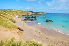 Sango bay Durness beach. Highlands of Scotland Stock Images